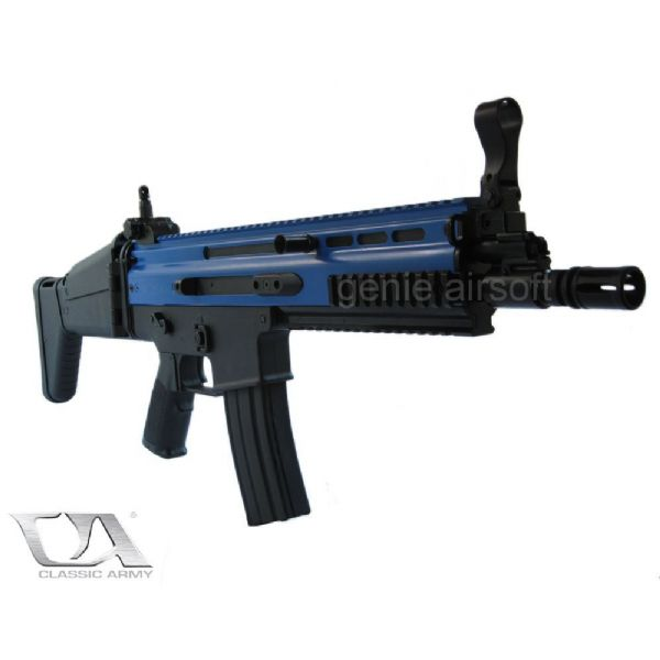 Classic Army Sportline Airsoft SCAR-L MK16 with MOSFET | Genie Stuff UK Shop | Free UK Delivery